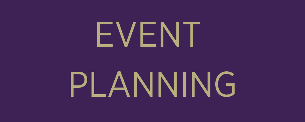 event planning banner