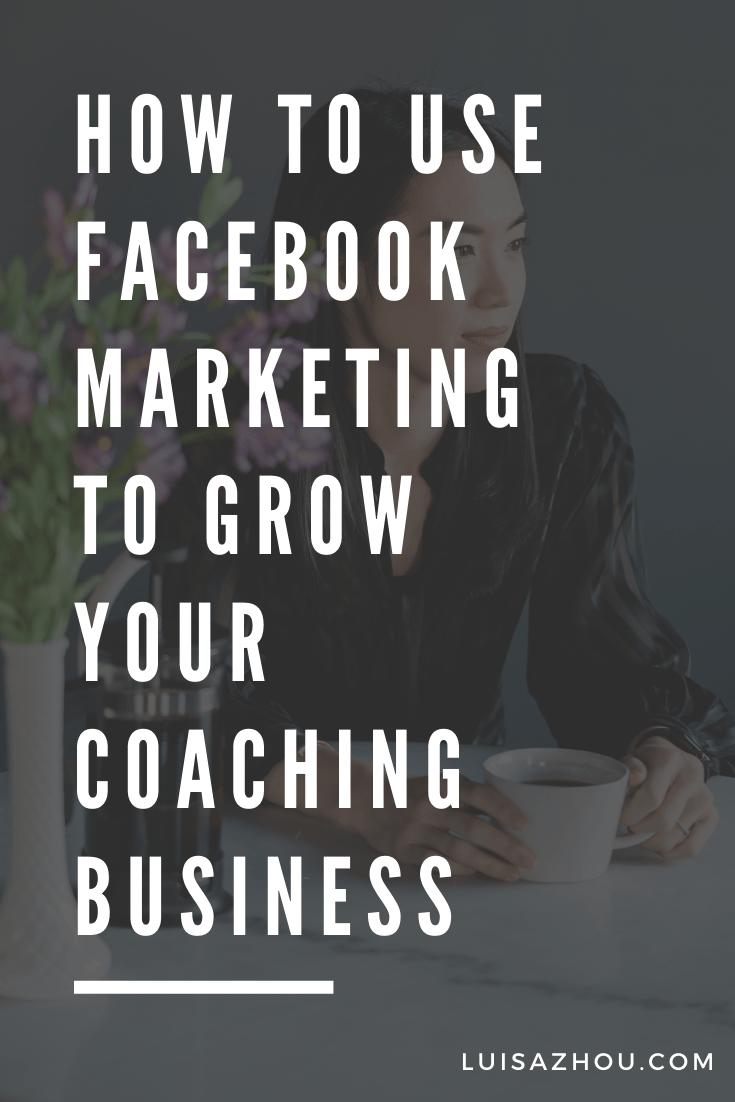 Facebook for coaches pin