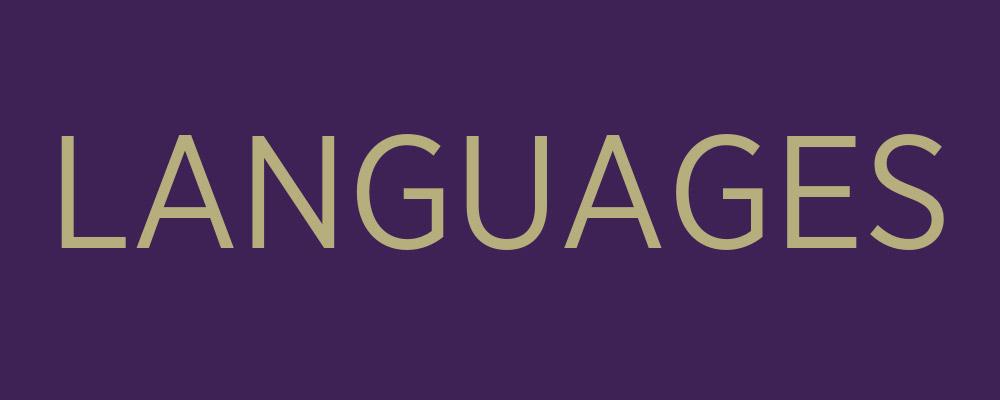 languages banner