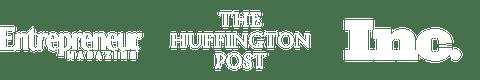 Entrepreneur Magazine, The Huffington Post, Inc.