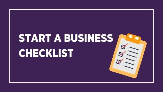 start abusiness checklist