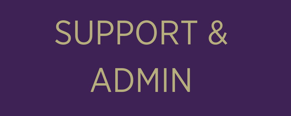 support admin banner