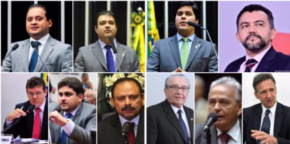 Deputados maranhenses que votaram a favor da emenda que cria punição para os juizes e menbros do MP por abuso de autoridade