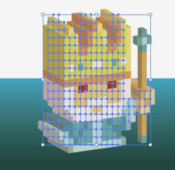 pixelkingextrude