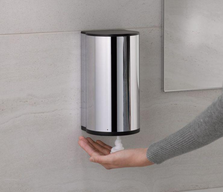 dosificador pared automatico cromo