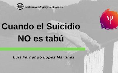 Cuando el suicidio no es tabú