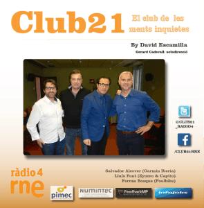 Club 21 radio David Escamilla