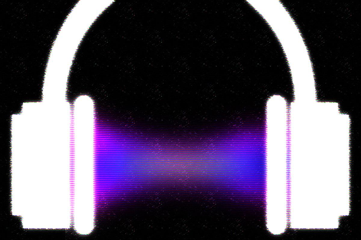 Logo de Audacity con auriculares. Imágen de Luis F. Roncero.