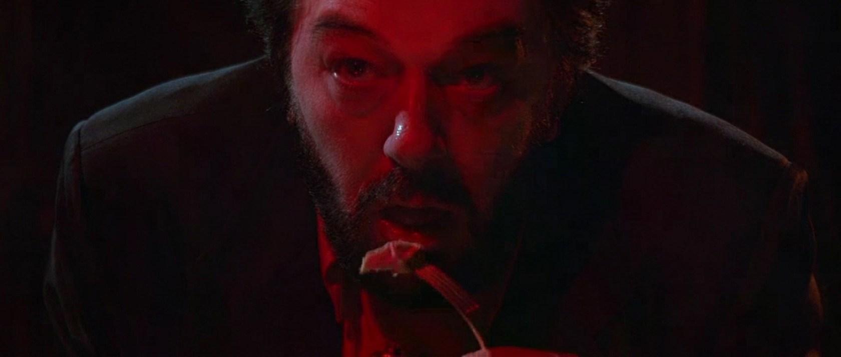 """Michael Gambon en un fotograma de """"El cocinero, el ladrón, su mujer y su amante"""", dirigida por Peter Greenaway en 1989."""