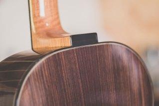 Luis Guerrero Spanish Acoustic Guitars F Series detail back