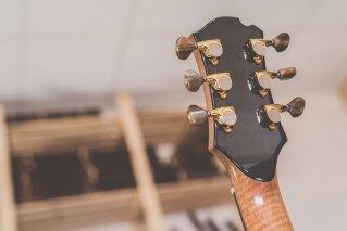 Luis Guerrero Spanish Acoustic Guitars F Series tuner back