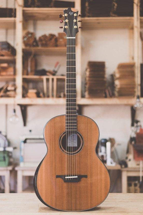 Luis Guerrero Spanish Acoustic Guitars J Series front