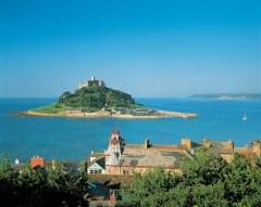 La isla de St. Michael se une energéticamente a Saint Michel en Francia.