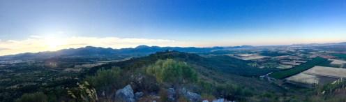Vista panorámica desde el Puig de Sta. Magadalena