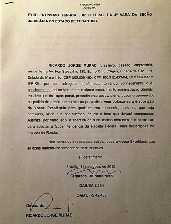Ricardo Murad - Operação PF 2
