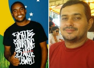 Blogueiros Ítalo Diniz e Roberto Lano