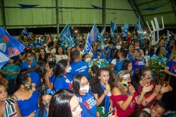 Grande número de eleitores marca presença na convenção Paula de Noleto