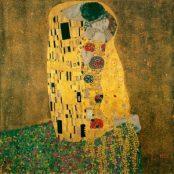 El beso. Gustav Klimt. Un icono de la pintura modernista.