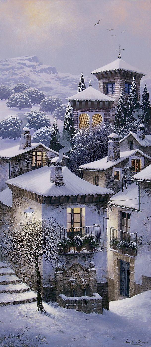 Nieve en la judería