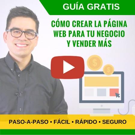 Video-guía: Cómo Crear La Página Web Para Tu Negocio en 15 minutos