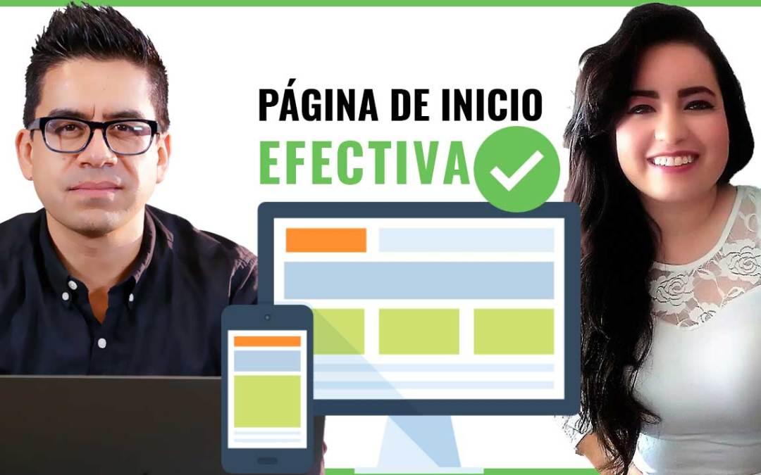 Cómo crear una página web de inicio efectiva para tu negocio | Diseño y Texto Persuasivo.