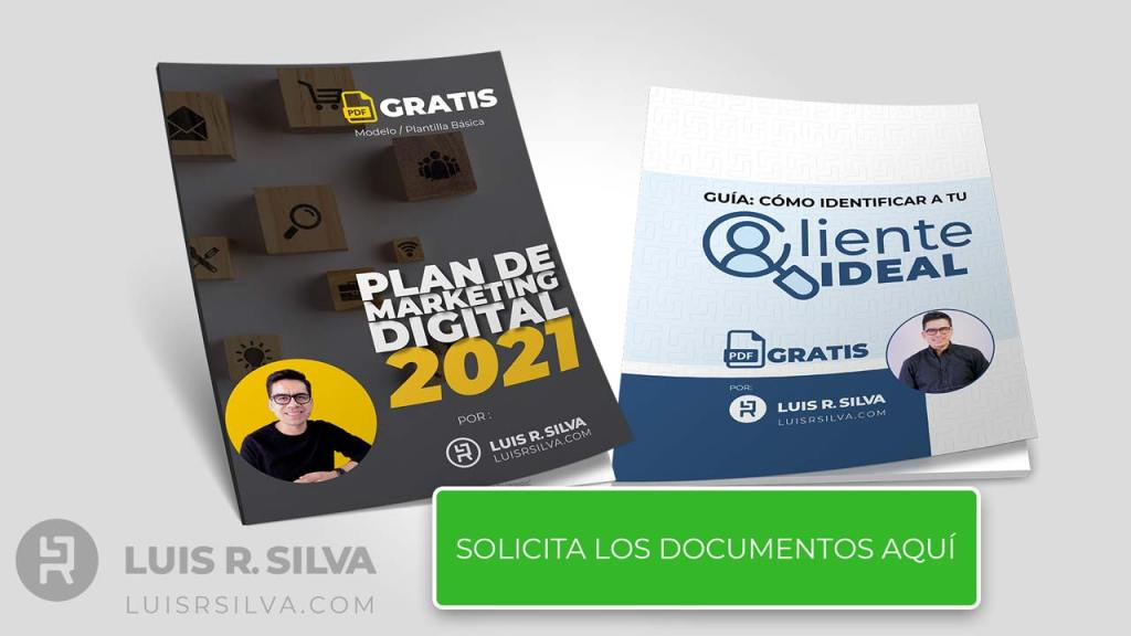plan de marketing digital - plantilla pdf gratis