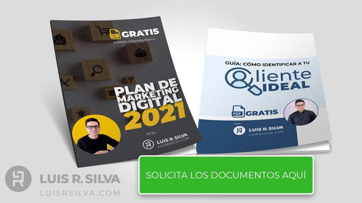 Cliente ideal guía gratis y plantilla plan de marketing digital