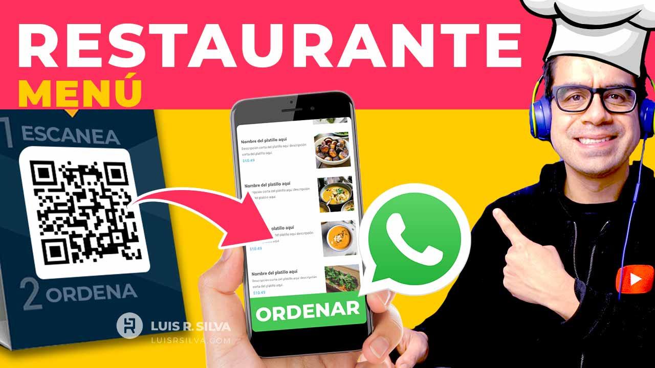 Cómo crear una PÁGINA WEB para RESTAURANTE con menú digital y ACEPTAR PEDIDOS EN LÍNEA