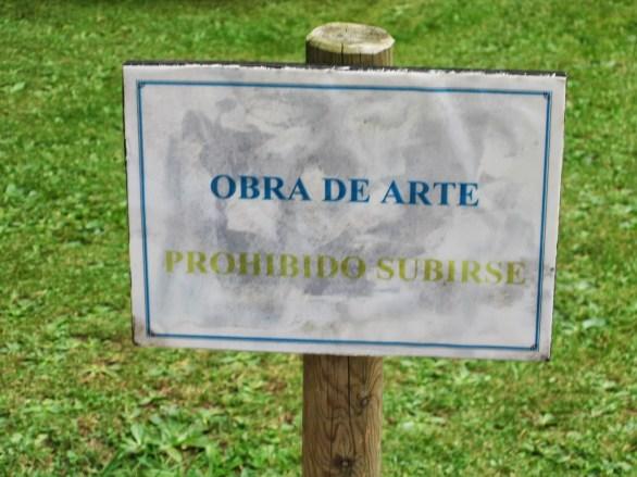 ...porque si no, ¡lo mismo la gente se sube encima! (Cantabria)