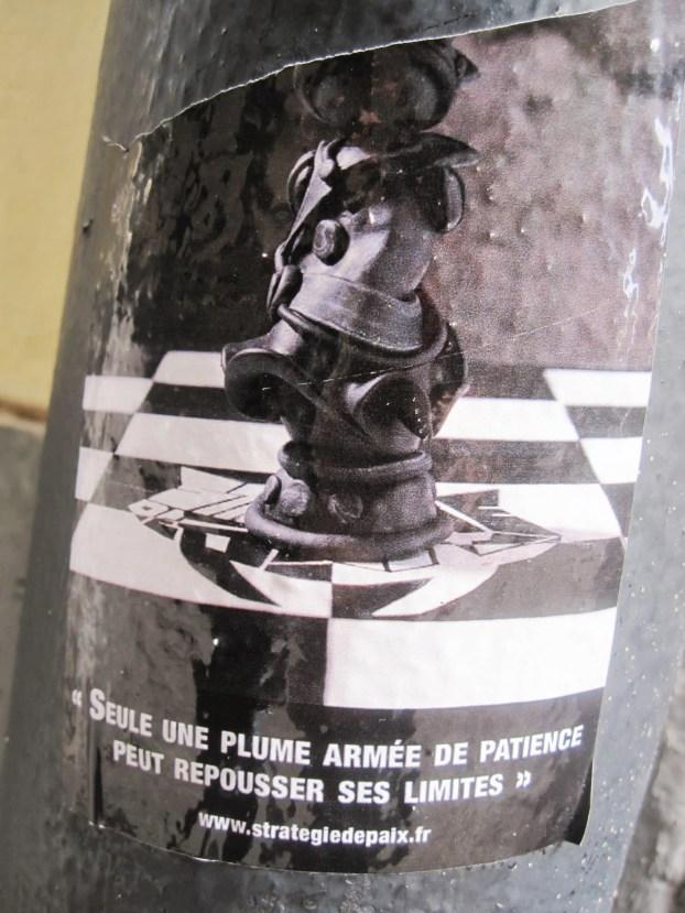 """""""Solo una pluma armada de paciencia puede sobrepasar sus límites"""". (Ginebra, Suiza)"""