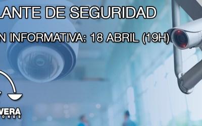 Sesión Informativa para Vigilante de Seguridad