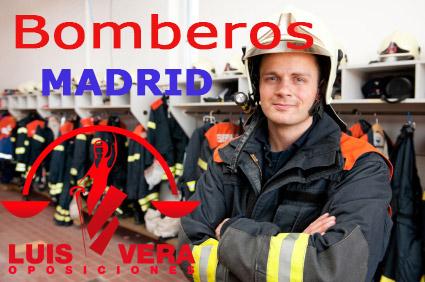 79 PLAZAS DE BOMBERO EN MADRID