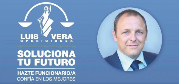 Luis Vera con eslogan