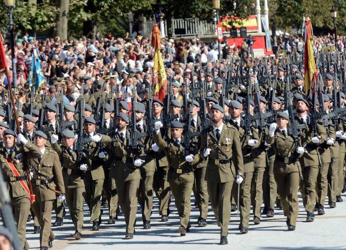 Convocadas 2.000 plazas para el Ejército Español