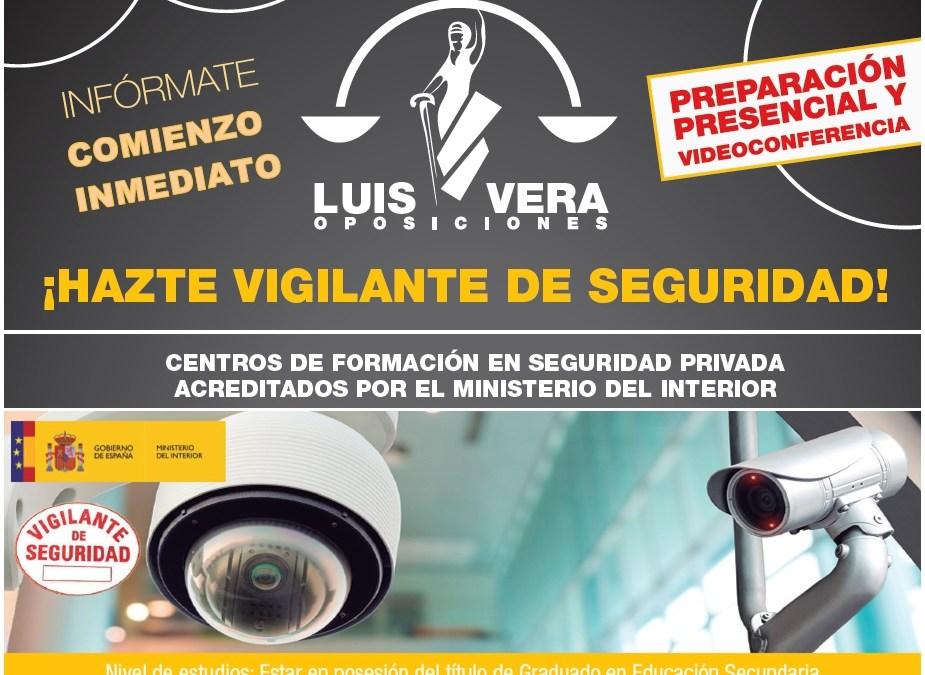 VIGILANTE DE SEGURIDAD. SESIONES INFORMATIVAS MARTES 20 Y JUEVES 22 DE FEBRERO