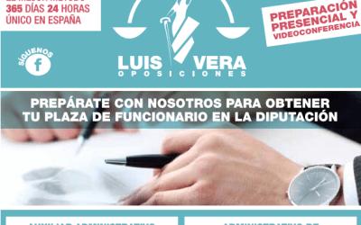 TRABAJA CERCA DE CASA. OPOSICIONES DE LA DIPUTACIÓN DE JAÉN