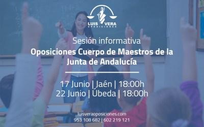 17 y 22 de junio, fechas para las dos nuevas sesiones informativas sobre las oposiciones de Primaria
