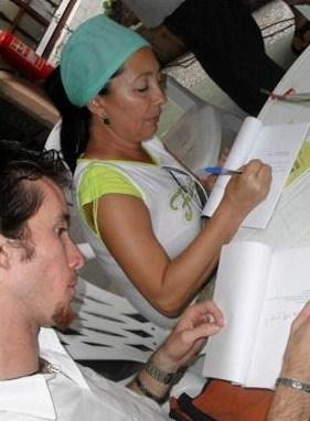 Escritora Maribel Feliú y Deville, en Cuba
