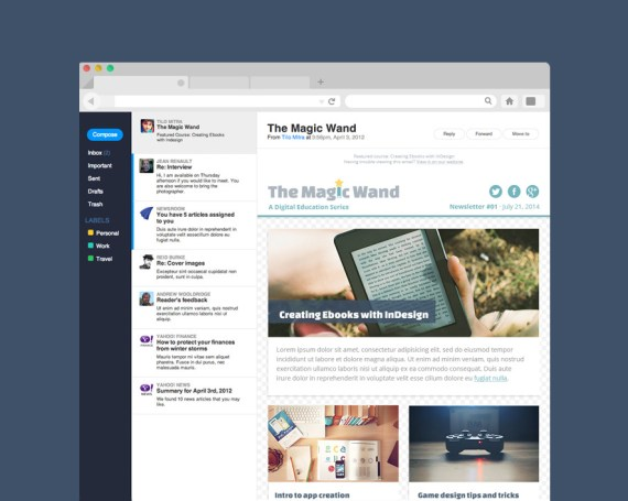 Magic Wand Brand and Newsletter
