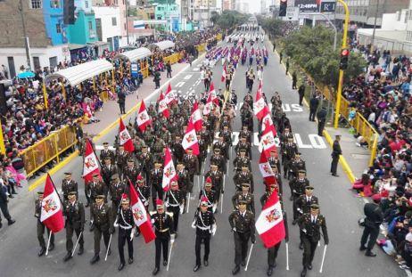 DESFILE Y GRAN PARADA MILITAR PERU 2016 (9)