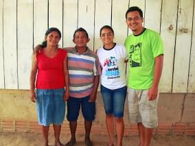 Pastor Machico e esposa
