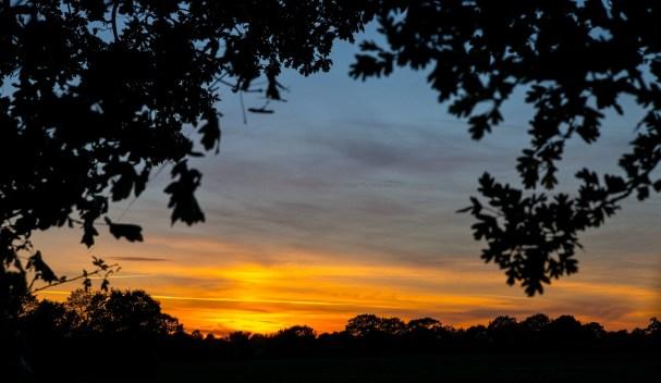 Sunset in Suffolk