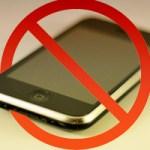 Отключайте мобильные телефоны когда находитесь в храме