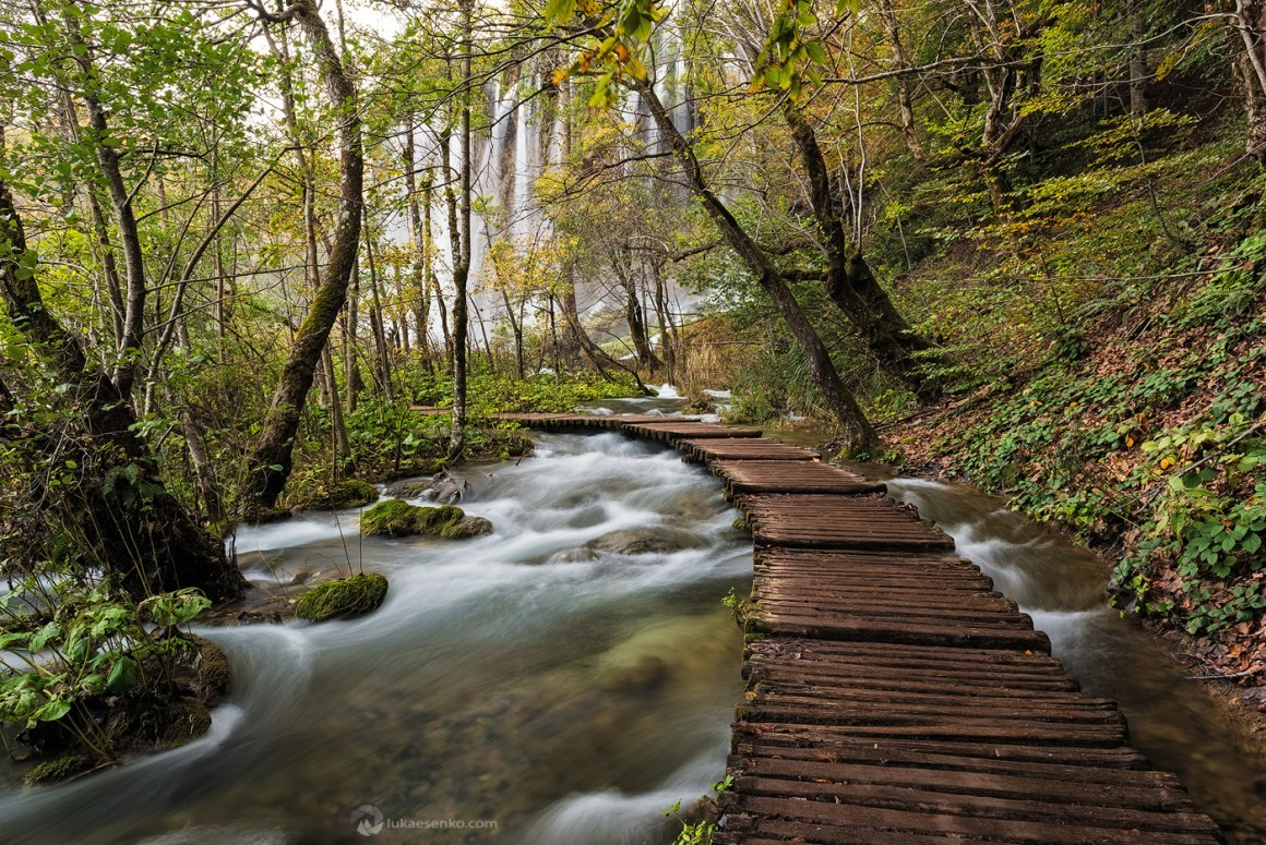 Boardwalk at Plitvice Lakes NP