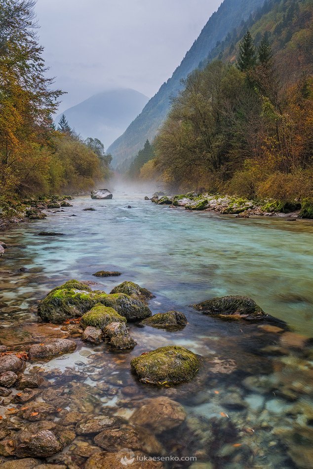 Soča river