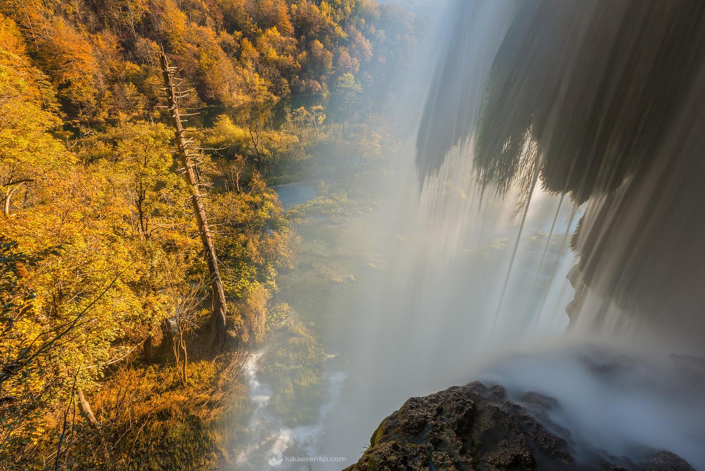 Autumn at Plitvice Lakes national park