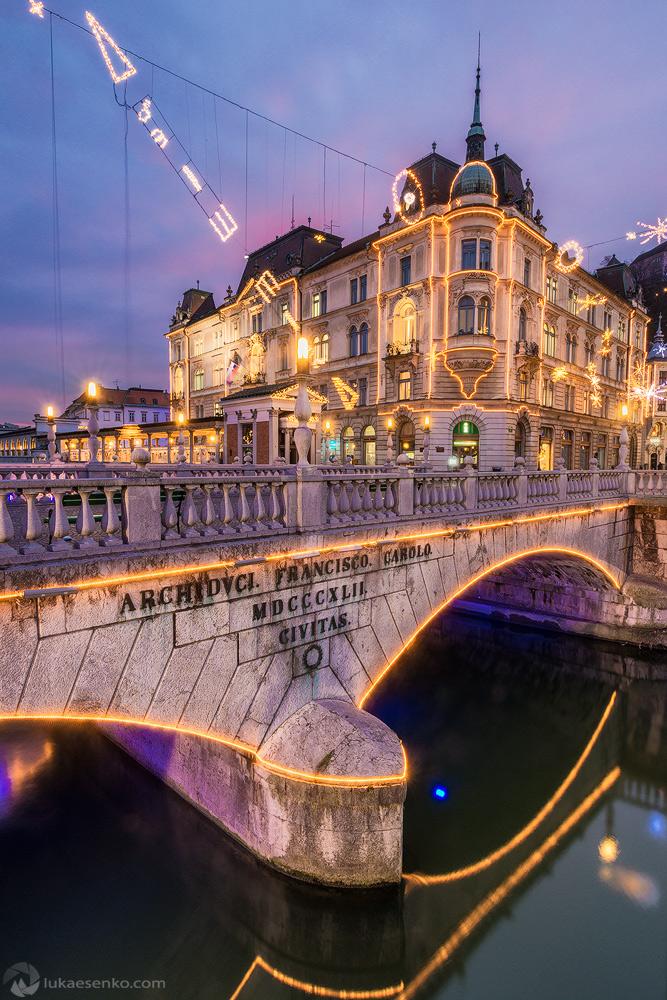 Festive Ljubljana