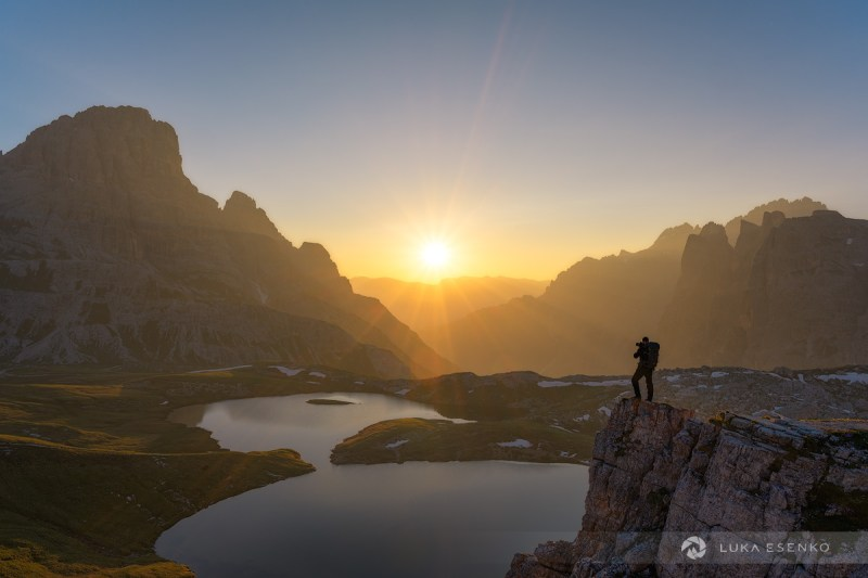 Photographing in Dolomites, Italy