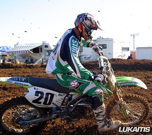 Gavin Gracyk was third overall in the 250 Expert class