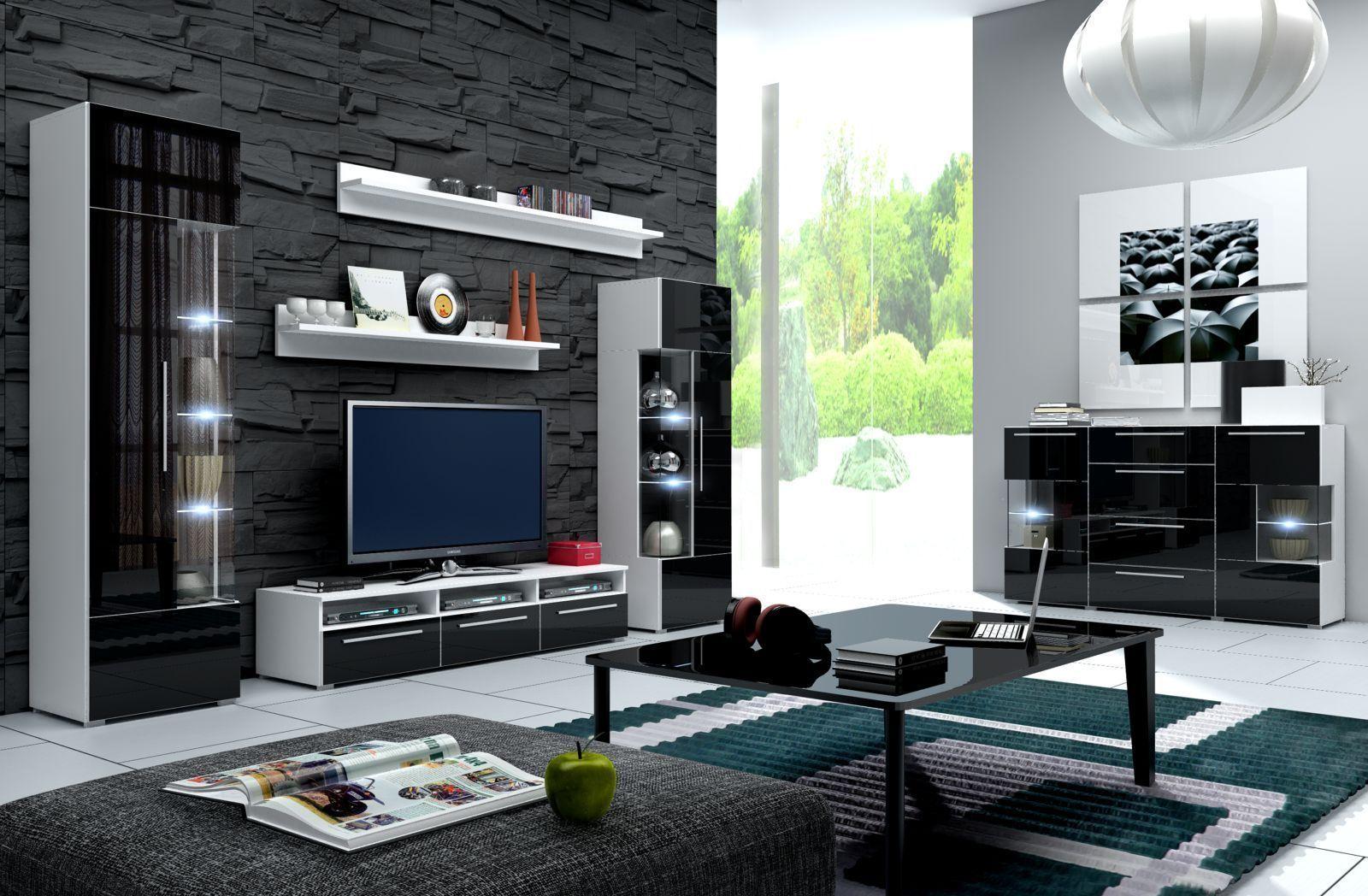 Einfach Wohnwand Cube Bestand An Wohndesign Dekor